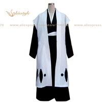 Kisstyle Fashion Bleach Juban Hitsugaya Toushirou Uniform COS Clothing Cosplay Costume,Customized Accepted