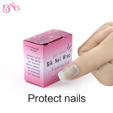 1Box Nail Care Nail Fiberglass Silk Nail Wrap Service Gel Nail Sticker Extension