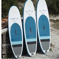 Professional inflatable surfboard for surfing
