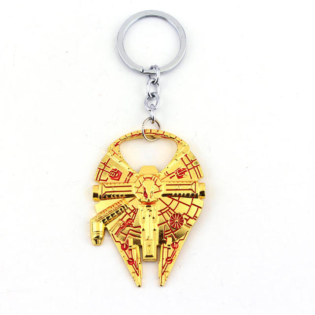 Star Wars Millennium Falcon Metal Alloy Bottle Opener – Keychain