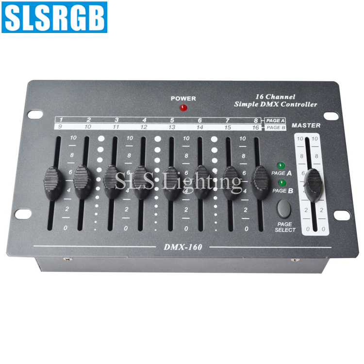 SLS-1320 Hot! 16CH simple dmx 512 stage light console 16 channels simple dmx console dj lighting mini dmx controller console 16SLS-1320 Hot! 16CH simple dmx 512 stage light console 16 channels simple dmx console dj lighting mini dmx controller console 16