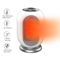 Electric Handy Heater Portable Electric Heater Hand Warmer Hot Fan Radiator Warme Adjustable Thermostat