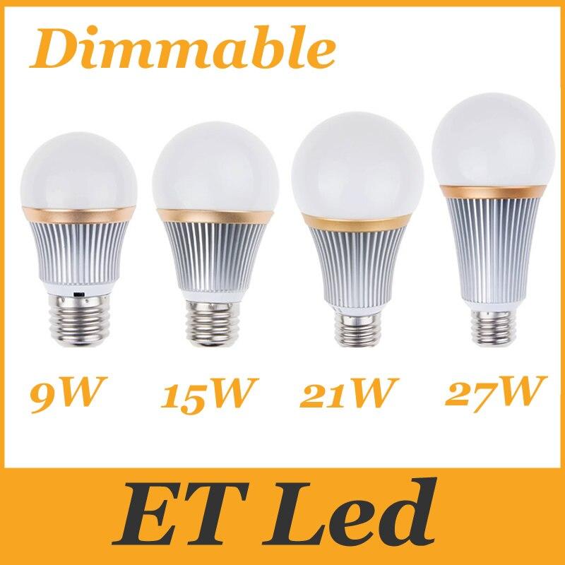 Dimmable Waterproof PAR30//PAR38 E27//E26 LED Light Bulb 15W 18W 21W Spot lamp