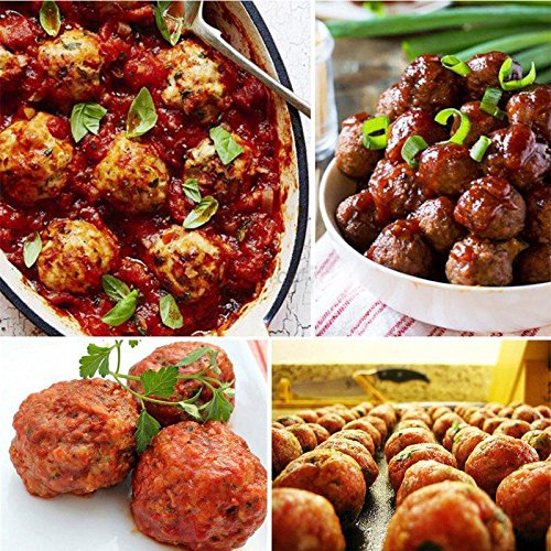 1 pc Meatballs Mold Maker Food-Grade Plastic Fish Balls Handmade Meat Ball Mold DIY Kitchen Tools