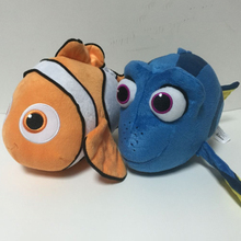 2pcs/lot 35cm Finding Dory Fish Clownfish Nemo Plush Toys Soft Stuffed Cartoon Animals Toys Gifts for Kids Children Christmas