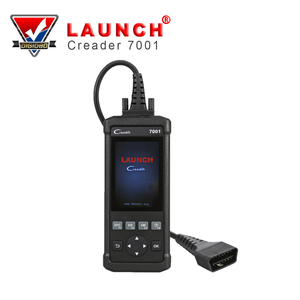LAUNCH CReader 7001 OBD2/EOBD&CAN Code Reader Scanner Auto Diagnostic Scan Tool Portable for Oil Reset Function lexia 3 diagnostic tool lexia3 pp2000 obd2 tool escaner automotriz auto diagnostic scanner for car lexia 3 diagbox 7 83 7 65