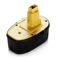Melasta 18V 1500mAh NI CD Rechargeable Battery for Dewalt Power Tools Drill DC9096 DC9098 388683 12 651034 01 DE9039 DE9095