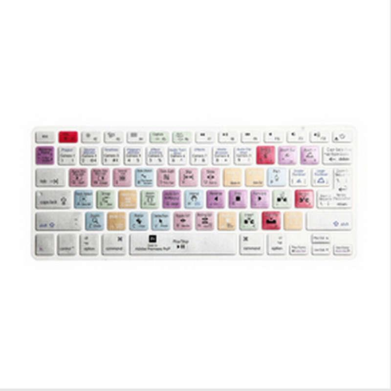 """(15 Stücke) Adobe Premiere Pro Tastatur Abdeckung Verknüpfung Gedruckt Abdeckung Für Macbook Air Pro Retina 13 """"15"""" 17 """"imac Wireless & Macbooks"""