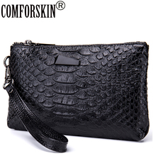 Fashion Alligator Grain Women Organizer Wallets Quality Split Leather Crocodile Pattern European American Female Clutch Purses