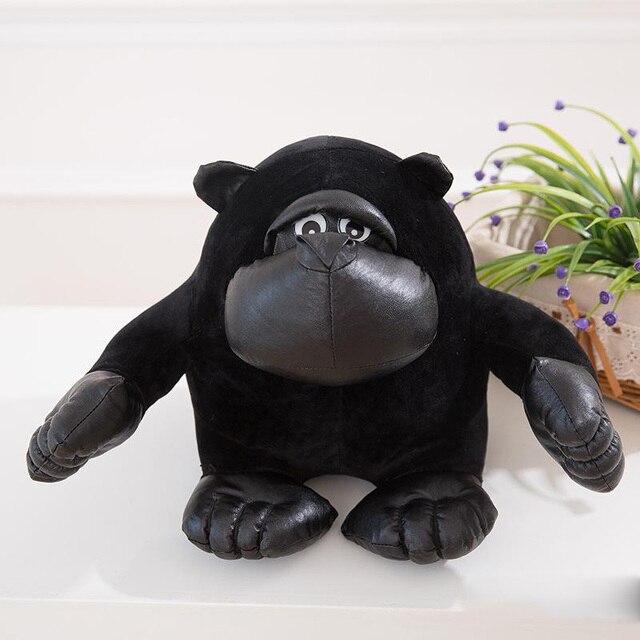 """אורנגאוטן צעצועי קטיפה ממולא חמוד בעלי חיים מציאותיים Ape שימפנזה קוף גורילה צעצוע אהבת חג האהבה מתנות 20 ס""""מ"""