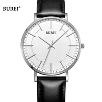 BUREI Women Watches Ladies Waterproof Fashion D Style W Business Quartz Wrist Watch Leather Dress Clock Saat Relogio Feminino