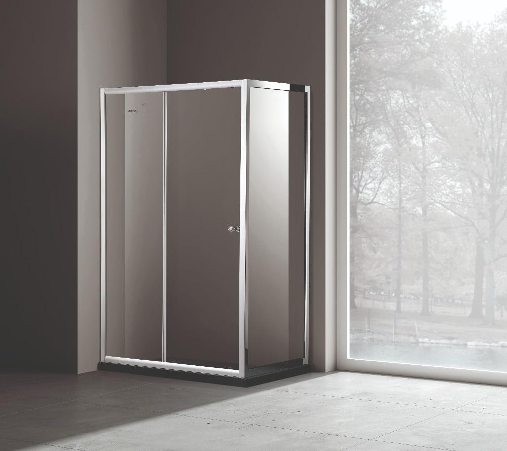 JOMOO Anti-Explosão 8 dobradiças e alças de aço inoxidável 304 milímetros de vidro temperado chuveiro quartos cabines de duche cercos do chuveiro