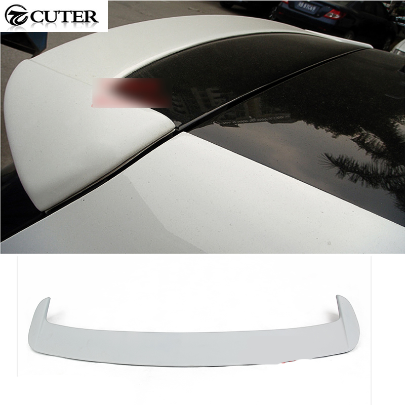 golf 6 car styling PU unpainted auto rear roof lip spoiler wing for VW golf VI standard MK6 2010-2013 high quality frp jc styling car rear spoiler for ben z auto roof rear wing for smart