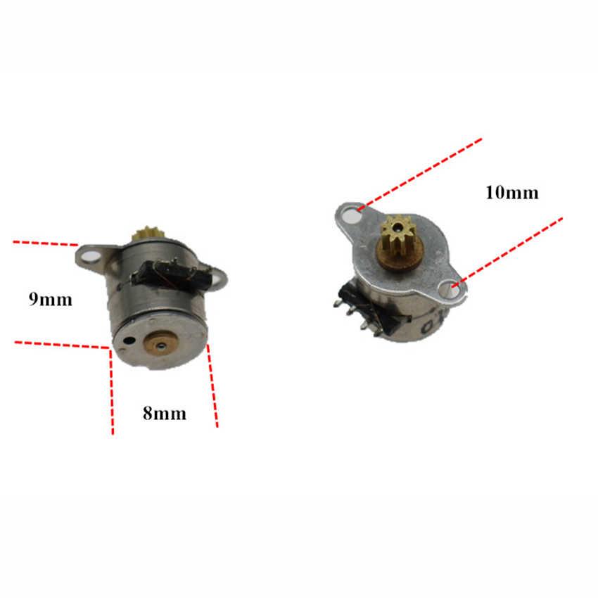 1 Bộ 4 dây BJ04 mini động cơ bước với 9 răng 6mm * 7mm xe máy mini cho kỹ thuật số camera