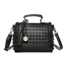 Fashion Solid Women  Shoulder Bag