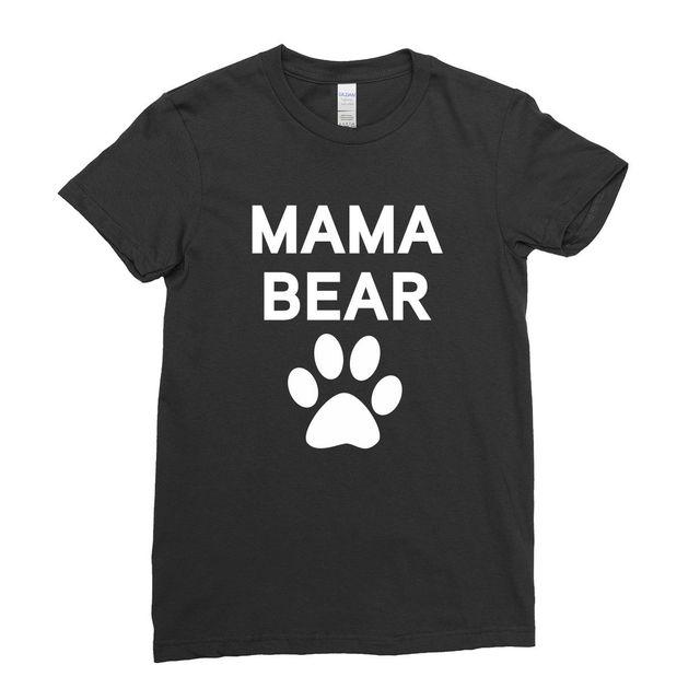 66c8fcf575c6 Family Bear Papa Mama Bear Little Baby Bear Matching Family Couple Team T- Shirt Cool Casual pride t shirt men Unisex New Fashion