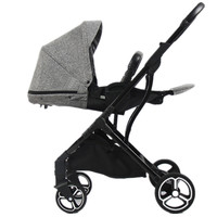 Роскошная детская коляска модная коляска Europea двухсторонняя Kinderwagen новорожденная коляска с высоким ландшафтом Bebek Arabasi