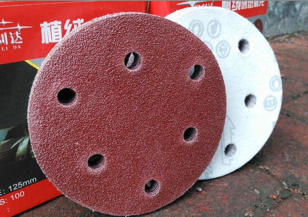"""6/""""inch 40#-3000#Grit Sanding Disc Sanding Polishing Pad Sandpaper Disc Hook/&Loop"""