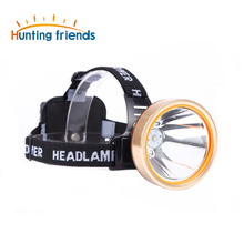 12pcs/lot Hunting friends LED Headlamp Rechargeable Headlight Waterproof Head Flashlight Hunting Lights Fishing Lamp for Outdoor