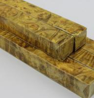 Burma Camphor Burl Insulating Knife Handle Material 2 2 4 33 Cm