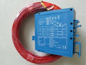 12v/24V Single Channel Metal Detector Vehicle Loop Detector 50M loop cable wire for Vehicle Parking Control System