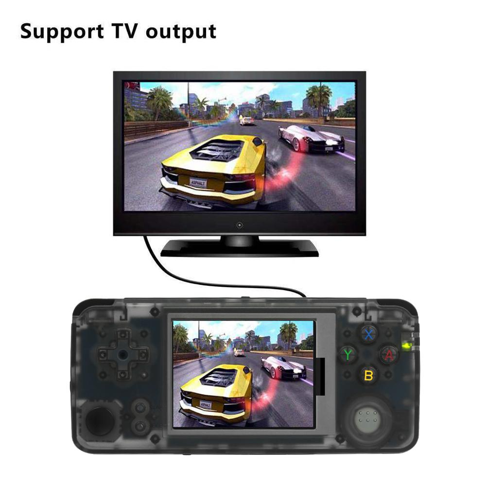 Q9 Handheld Game Console 60Hz Portable Video Game Consoles Music Player Built in 3000 Games 1800mAh