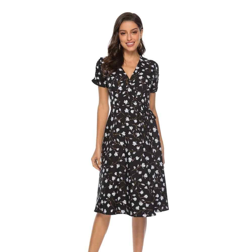 2020 Мода дамы, являющийся лидером продаж сексуальный женский одежда платья 19531