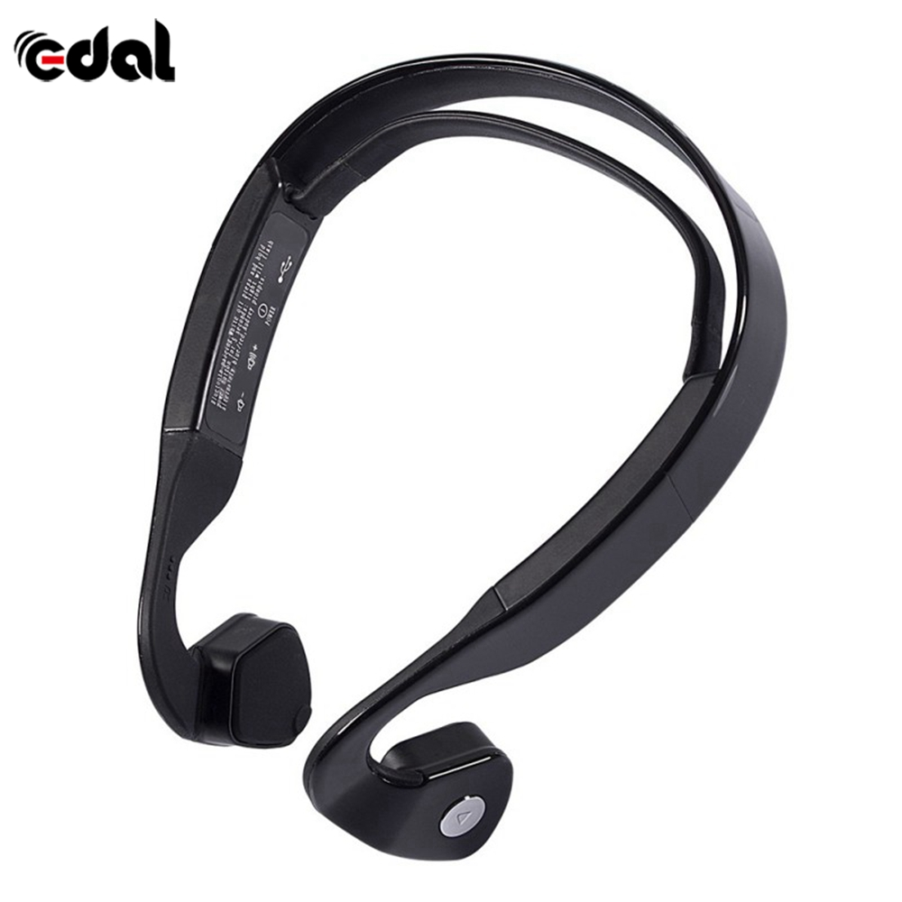 EDAL Exercise Wireless For Bluetooth 4.0 Bone Conduction Wireless Stereo Headset Sports Headphone For Running 2017 exerpeutic 1000 magnetic hig capacity recumbent exercise bike for seniors