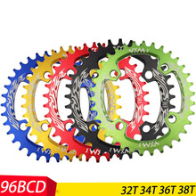 VXM 32T 34T 36T 38T 96BCD Aluminum Alloy Oval Chainwheel Road Bicycle ChainRing for M7000 M8000 M9000