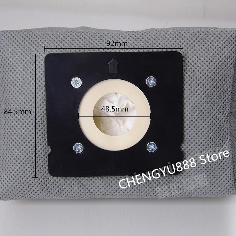 1pcs Suitable For Vacuum Cleaner Dust Bag  Rowenta RO1717 RO1733 RO1751 ZR0032 RO2050 RO2052 RO2033 ZR0039 Vacuum Cleaner Parts