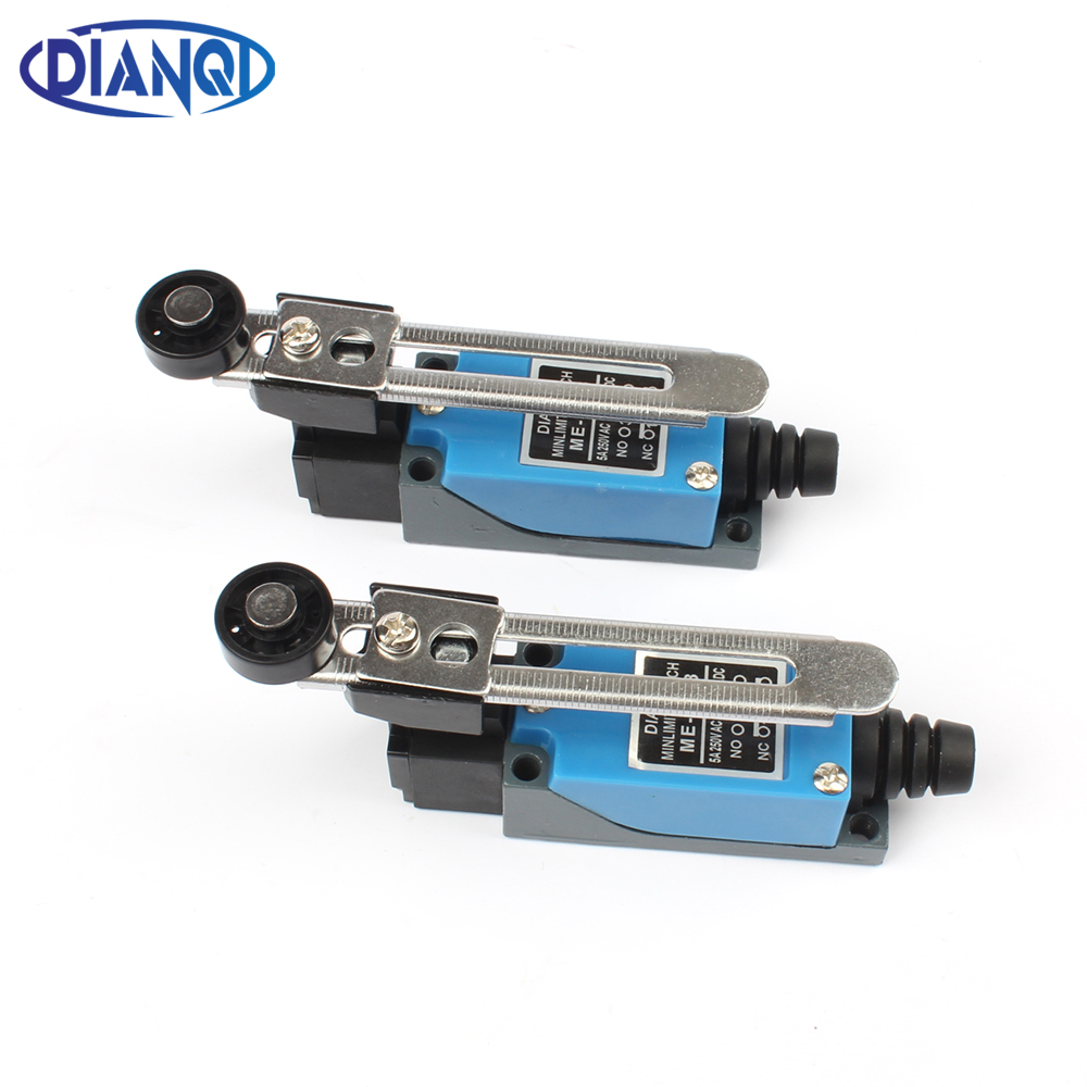 DIANQI ME ME-8108 limit switch Rotary Adjustable Roller Lever Arm Mini Limit Switch TZ-8108 Momentary 10 pcs mini micro limit switch roller lever arm spdt snap action lot