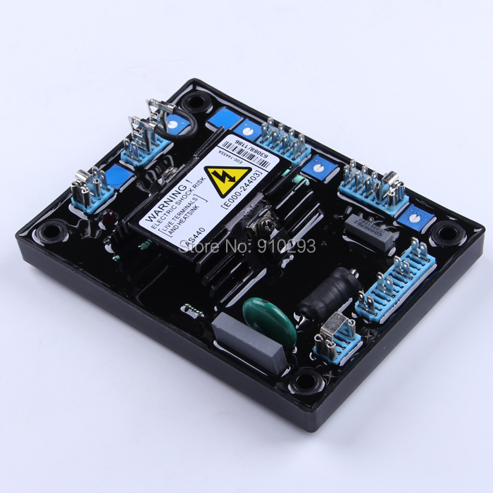 AS440 Single 3 Phase Voltage Regulator universal ac diesel alternator AVR controlled electric Power Controller Stabilizer module