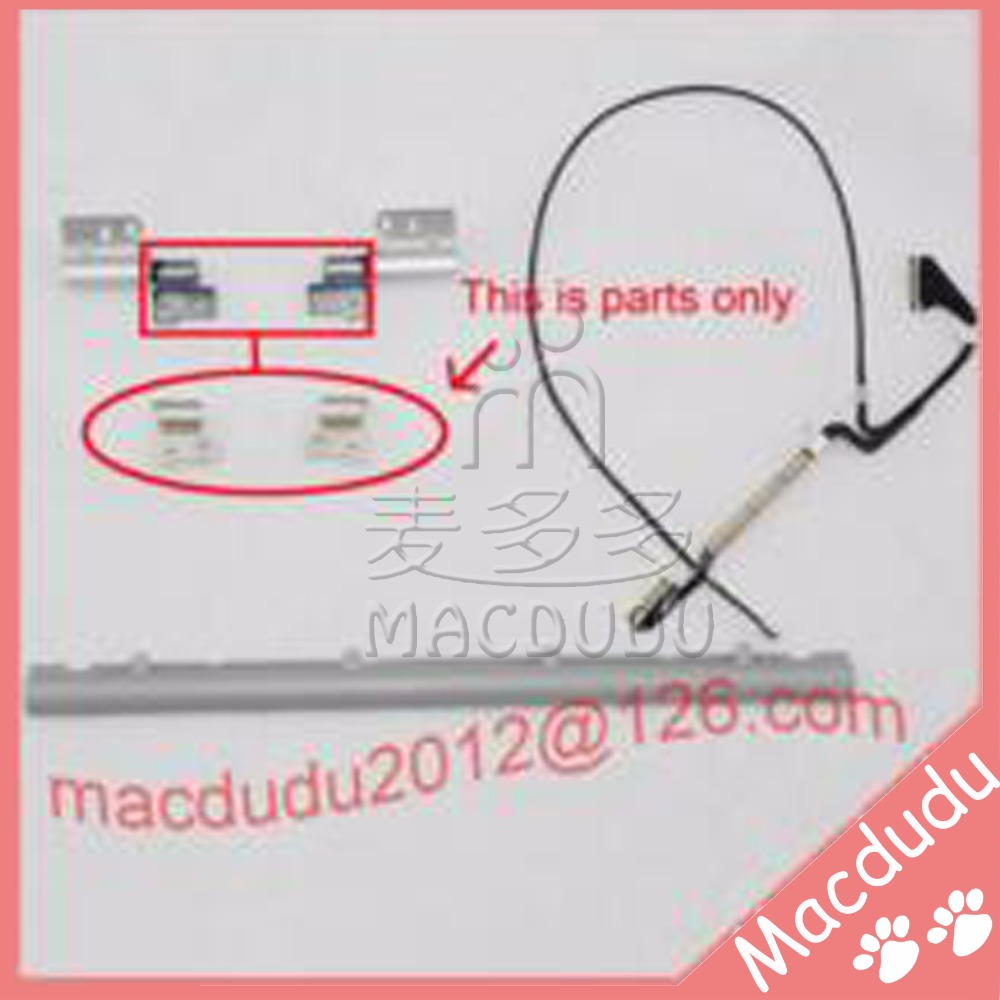 Brand New LCD Hinge Cover Hinge Clutches L R LCD Cable for 13 Macbook Air A1237