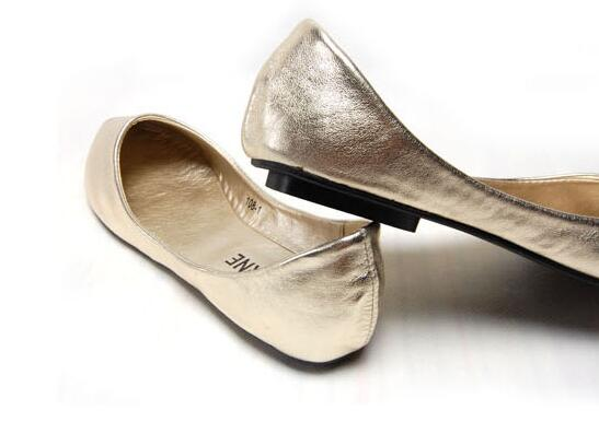 BEYARNE Neue Mode Dame weiche Wohnungen Schuhe für stick spitzen kappe schwangere frau schuhe Frauen herbst Schuhe große Größe 33-43 silber