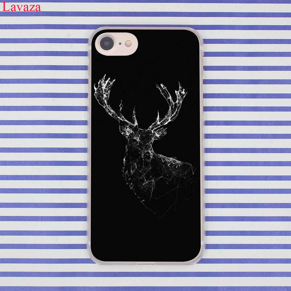 Lavaza Minimalist animal deer Minimalistic animals deer Hard Phone Case for Apple iPhone 8 7 6 6S Plus X 10 5 5S SE 5C 4 4S
