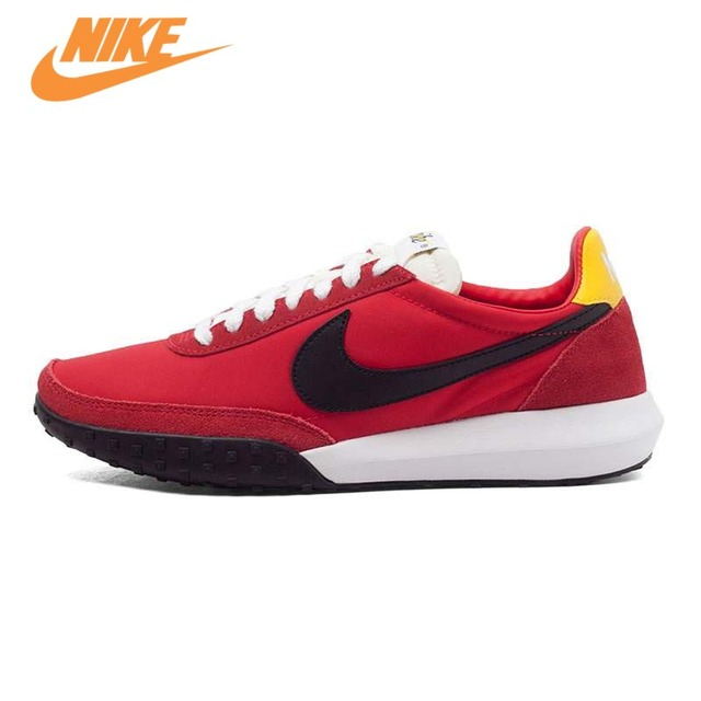timeless design b5223 1c2d7 ... sweden original nike roshe waffle racer nm mens running shoes sneakers  trainers red dc41d 24e09