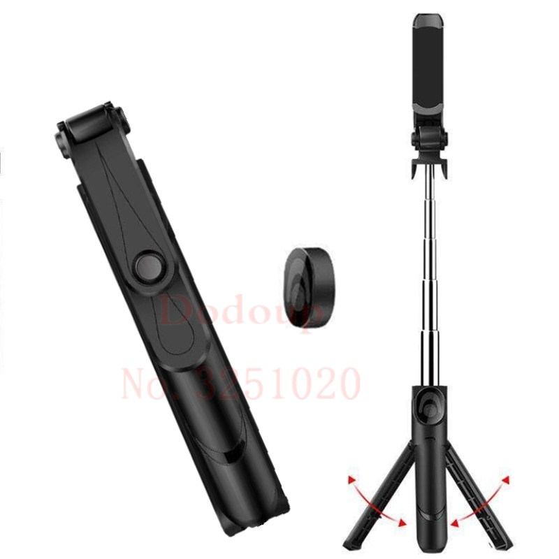 Mobile Phone Selfie Stick Bluetooth Extendable Monopod Tripod 3 in 1 Universal Pau Palo Selfie Stick For iphone 7 For Samsung