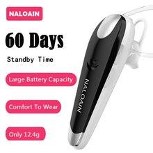 NALOAIN 60 дней в режиме ожидания Hands Free Bluetooth наушники Беспроводной гарнитура наушники С микрофоном для iPhone samsung Android