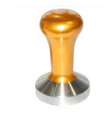 Coffee Tamper Machine, 53mm Diameter Stainless Steel Flat Base Grip Handle