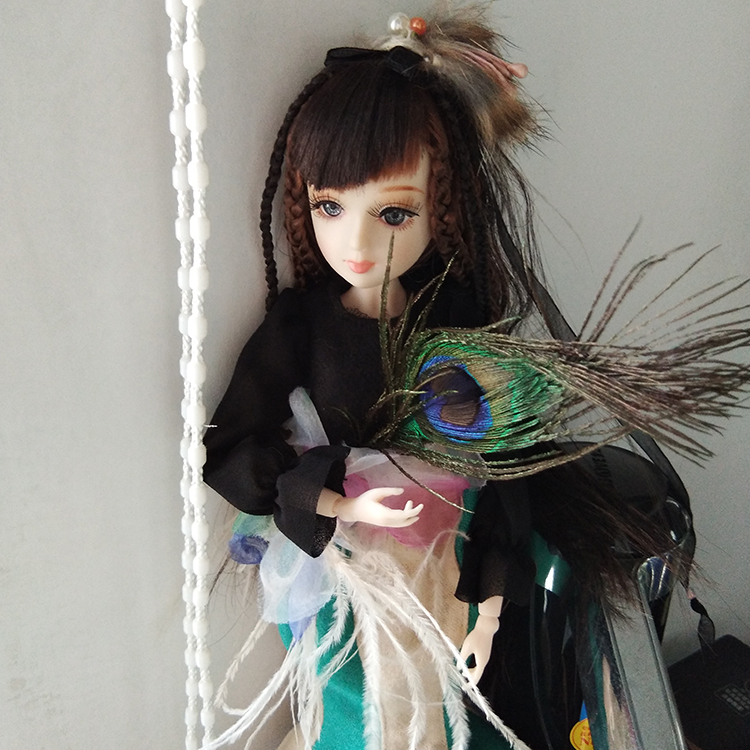 32cm Original Design Chinese Fashion Dolls with Outfits, Accessories & Stand Girl Doll Toys Christmas Gifts
