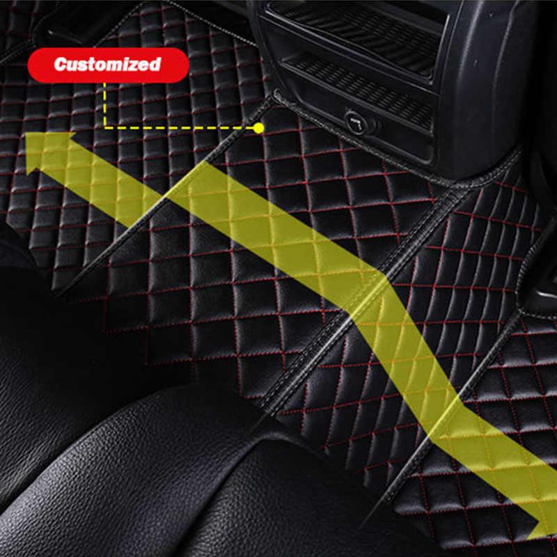 Auto Geloven auto floor Voet mat Voor citroen c5 c4 picasso c-elysee DS4 5 6 auto accessoires waterdicht tapijt tapijt vloer lijn