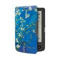 Отпечатано фолио ПУ кожаный чехол чехол книга чехол для Pocketbook basic сенсорный lux 614/624/626 + подарок