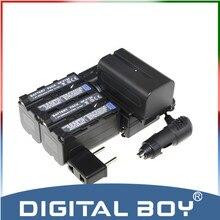 ( 6 unids/set ) 3xNP-F750 NP F750 F730 F770 batería recargable + cargador + cargador de coche kit para Sony CCD-TR3 HDR-FX1 DCR-TRV420 z1
