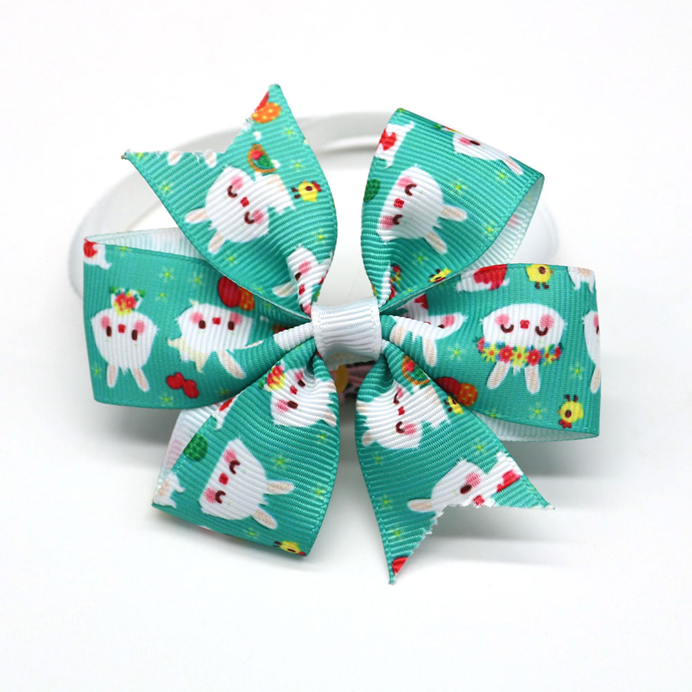 New 50PC Cat Pet Dog Bow Tie Easter Pet Supplies Rabbit Pet Dog Puppy Samll-Middle Dog Bow Grooming Accessories Pet Products 1