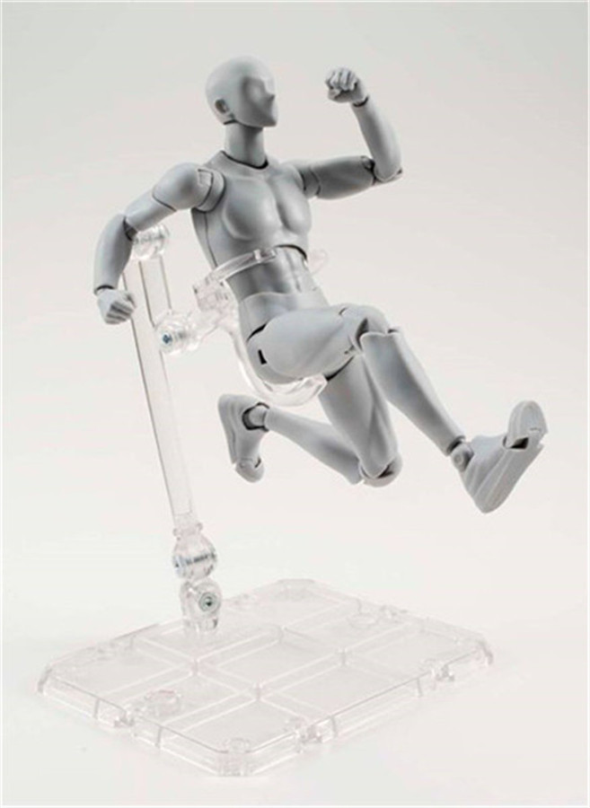 ФОТО SHF Grey Skin color painted Male Female removable action pvc Figma toy tall 13cm in box hot sell.
