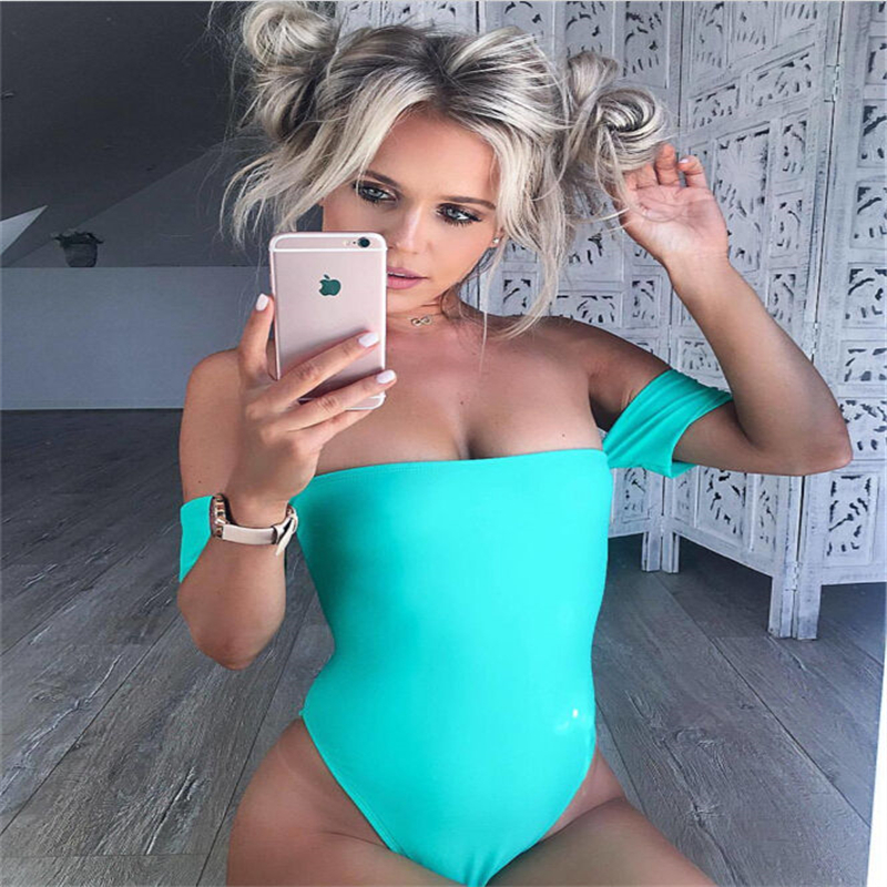 3 Colors Sexy Strapless Backless Bodysuits 2017 New High Waist Cross Rompers and Jumpsuits Women Basic Tops