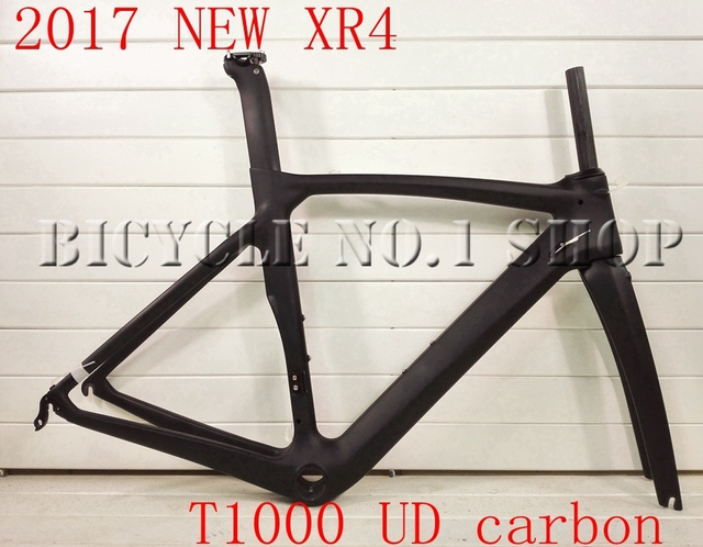 Buy 2017 Black Blue New Road Bike Frame T1000 Ud