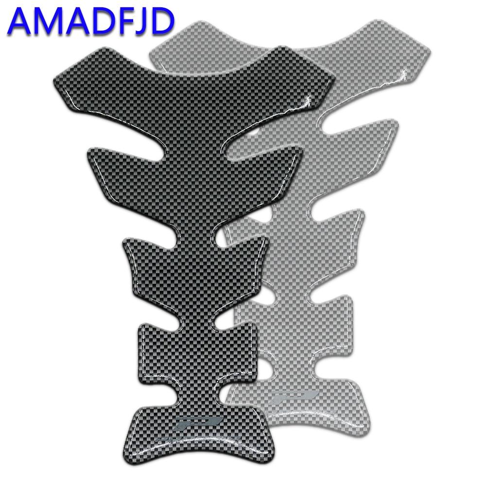 AMADFJD Para Yamaha Etiqueta Da Motocicleta Tanque De Gás De Fibra De Carbono Pad Protector Sistema de Proteção Do Tanque Adesivos Na Motocicleta Tankpad