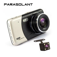 PARASOLANT 4 0 Inch IPS Screen Car DVR Car Camera Dual Recording Dash Camera Full HD