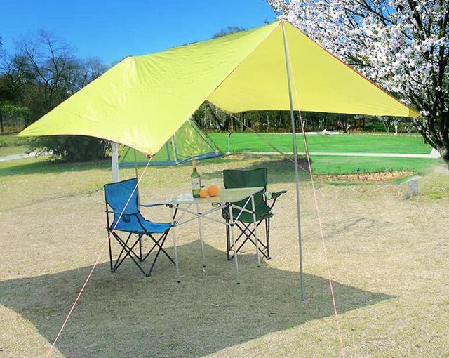 C&ing Sun Shelter UV-Protection Sun Shade Folding Beach Pergola Portable Multi-Function Canopy & Camping Sun Shelter UV Protection Sun Shade Folding Beach Pergola ...